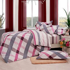 Four Piece Long Staple Cotton Duvet Cover Sets Multicolor 4*6