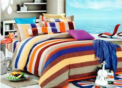 Four piece High quality thick 100%cotton bedding set Multicolor 5*6