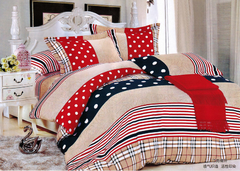 One piece multicolor flat sheet (New richcel cotton) double color 5*6