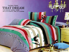 One piece multicolor flat sheet (New richcel cotton) Multicolor 5*6
