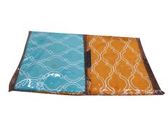 Four piece long staple cotton duvet cover sets double color 5*6