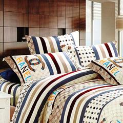 Two piece multicolor pillow case (New richcel cotton) Multicolor 48cm*76cm