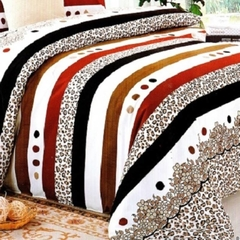 One piece multicolor Duvet cover (Thicken Long Staple Cotton) Multicolor 4*6