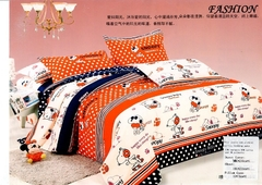Four Piece new richcel multicoloured cotton duvet cover set Multicolor 4*6