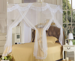 Condole type court mosquito nets one color 6*6