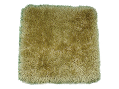 Stylish Fluffy Brown Door Carpets