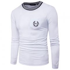Teenager Fashion Men's Casual Long Sleeve T-Shirt Tide 11 m