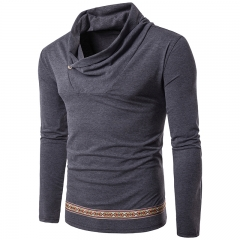 Young men's casual long-sleeved T-shirt 005 11 m