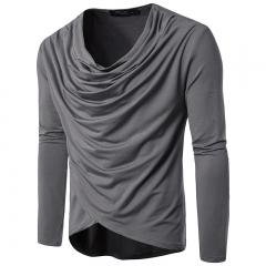Men's casual long-sleeved T-shirt men 003 m