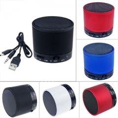 NFXSL-Portable Mini Bluetooth FM Speaker Wireless Handsfree Stereo Boombox black mini