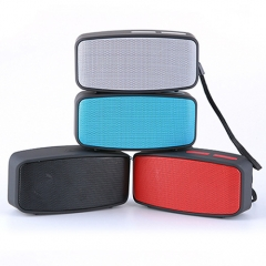 With 16GB Memory Card+Card Reader-Mini But Sound N10U Bluetooth  Stereo Speaker grey portable