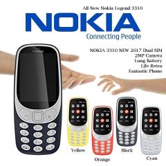 NOKIA 3310 NEW 2017 Dual SIM 2MP Camera Long Battery Life Retro Fantastic Phone dark blue