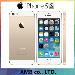 Factory Unlocked Original Apple iPhone 5s Fingerprint IOS OS Mobile Phone Touch ID iCloud App Store 64GB gold