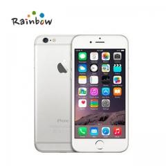 Unlocked Apple iPhone 6 Plus 16GB 64GB 128GB 5.5 Screen IOS 3G WCDMA 4G LTE 8MP Camera Mobile Phone 16GB black
