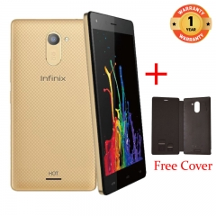 INFINIX X557 HOT4 Lite - 5.5 Inch - 1+16GB, 5+ 8MP Camera - Dual SIM - 3G , gold