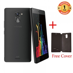 INFINIX X557 HOT4 Lite - 5.5 Inch - 1+16GB, 5+ 8MP Camera - Dual SIM - 3G , Black