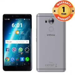 Infinix Zero 4 Plus Camera Smartphone- 20.7MP Primary Camera with Laser Focus & Image Stabilization grey