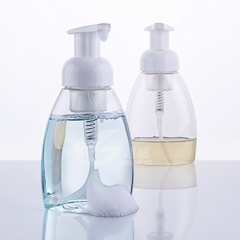 Fashion Foaming Soap Dispensers Bottle For Face Cleaning Or Bathroom as picture