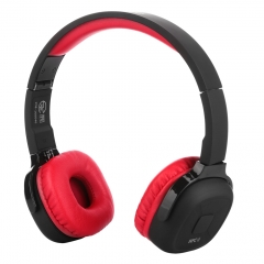 Bluetooth headset  high quality head-mounted movement  intelligent charging CE, ROSH certification Red/black