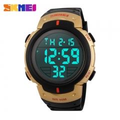 SKMEI Watch Men's LED Watch for Sports