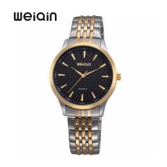 WEIQIN Watch Luxury Men's Quartz Watches,Stylish Waterproof Wristwatch Black