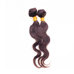 GREAT BEAUTY NATURAL HUMAN HAIR 2PCS 14 inch