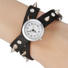 Women's Fashion Style Retro Dial Wrist Watch black