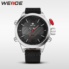 Weide sport militaire horloge multifunctionele quartz black