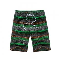 2017 Brand Beach Men Swimsuit Quick Dry Mens Boardshorts Camo Shorts Bermudas Masculinas green 3xl