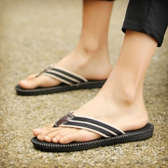Casual women mens flip flop summer fashion ladies slippers solid color sport beach unisex sandals black 39