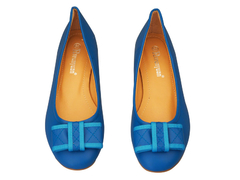 Avernyuan Bow Doll Shoes 38 Blue