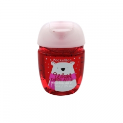 PocketBac Hand Gel Sanitizer Winter Candy Apple Anti-Bacterial Handwash