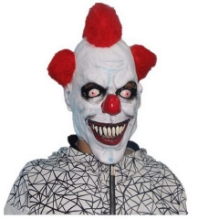 Evil Circus Clown Mask Pennywise Halloween Horror Party Fancy Dress Costume Accessory normal normal