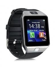 Generic DZ09 - 1.56 Smart Watch - 128MB ROM - 64MB RAM - 0.3MP Camera - Silver black .