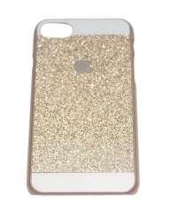 DEALFIT Apple iPhone 7 Classy Back Cover Gold .