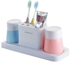 tooth brush cup holder