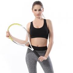 Cotton anti-vibration without steel sports underwear black m