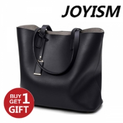 Joyism Luxury Handbags Women Bags Designer High Quality PU Totes Women Mujer Bolsas black f