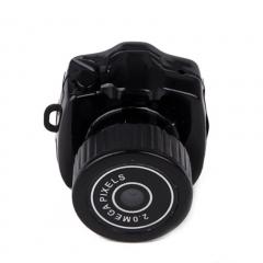 Mini Hidden Spy Cam Web Camera Y2000 Black black S