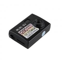 Prado2u MAXGear Smallest Mini Webcam Spy Cam Y1000 5MP HDVideoCamera Recorder DVR black S