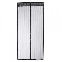 100 x 210CM Magnetic Door Anti-mosquito Screen Magnet Mesh Net Curtain Home Decor Grey 100*210cm