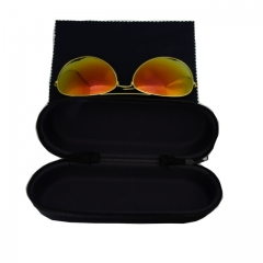 Men and Women Polarized Sunglasses and Full Metal Frame Sunglasses Blue Coating Lens one Purple 55mm-35mm