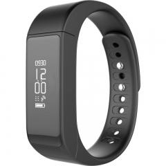 intelligent wristband Big screen touch news Push Bluetooth waterproof  movement wristband black one size