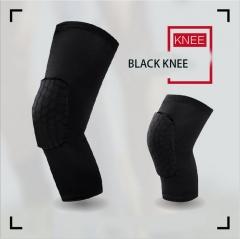outdoor movement  Knees honeycomb basketball  Crash Leggings Protector Knees black M