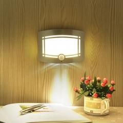 human body Sensor light  led induction Cabinet Light  Light-sensitive Night light  Creative white 15CM*11CM 1.5w