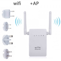 300M Wireless The Internet Relay Wifi Signal Amplifier Router Extend Expander Emission Enhanced AP