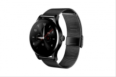 Intelligent Watch Card Call Heart Rate Monitor Ultra thin disc Sleep Monitor Step Watch black one size