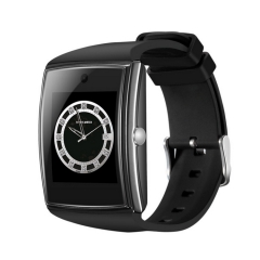Card intelligent Bluetooth Watch  Oversized Full touch HD screen  3D Surface design black one size