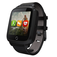 Intelligent Bluetooth Watch GPS Heart rate Step WIFI Positioning Watch black one size