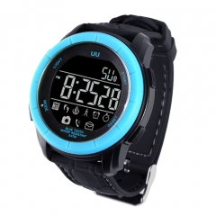 Intelligent Watch  Bluetooth  Anti-lost Remote control Take Pictures Waterproof Step Wristband blue one size